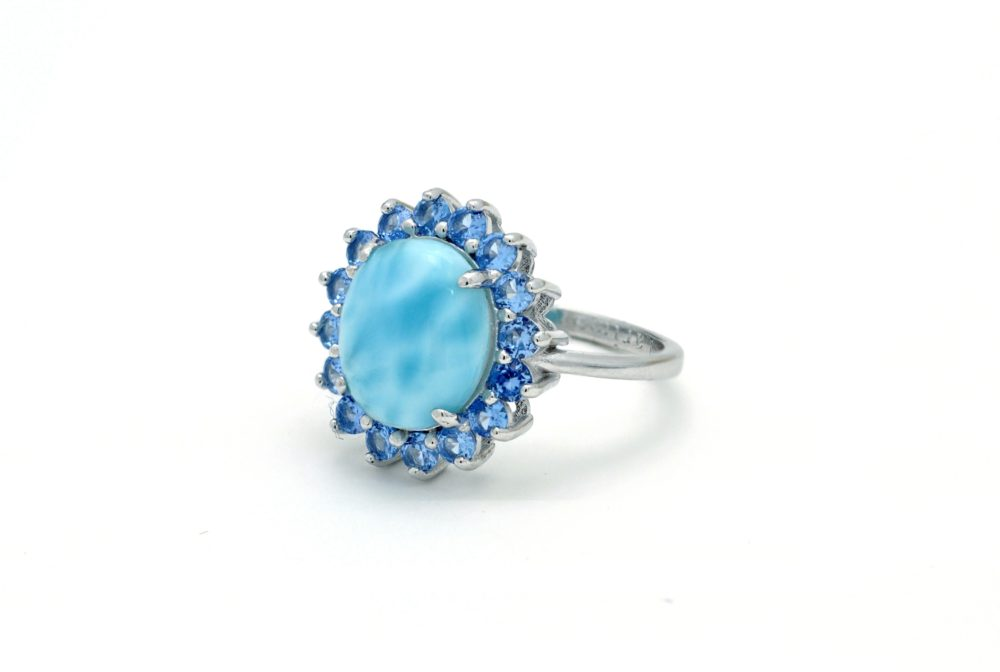Larimar 12X10 With Aquamarine Accents (JRX9461A)